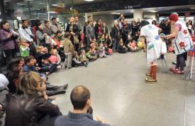 Metro Valencia concurso dibujo Nadal y Nanometro