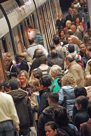 Viajeros de 2011 en FGV y Metro Valencia