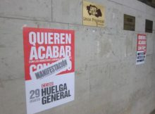 Metro Valencia y la huelga general del 29 M, horarios y estaciones cortadas
