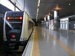 Metro Valencia Aeropuerto de Manises y Alicante