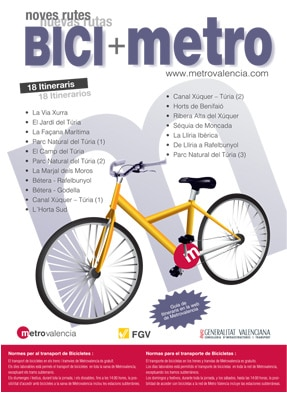 Bici Metro Valencia
