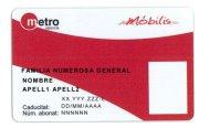 Metro Valencia y los descuentos a familias numerosas